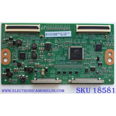T-CON / SONY LJ94-24877C / WDL_C4LV0.1 / SUSTITUTAS LJ94-24765D / LJ94-24877C / PANEL LTY550HJ04-A01 / MODELO KDL-55EX640