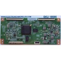 T-CON / CHANGHONG 4T4L3B8PR / V500DK2-CKS2 / E22034 13093004 / PANEL V420DK1 / MODELO UD42YC5500UA