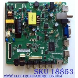 MAIN / FUENTE / (COMBO) / ELEMENT H15081421 / TP.MS3393T.PB758 / 34014441 / E254215 / 2603 / PANEL`S DLED32KJAH3X72 / HJ+DLED32KJAH3X72 / MODELOS ELEFW328B LE-32GCL-B(CL) / ELEFW328B