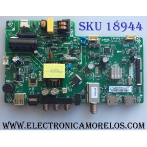 MAIN / FUENTE (COMBO) / BEST BUY / TOSHIBA B18010677 / TP.MS3553.PB982 / 3MS553B0 / 02-SH353A-C013000 / PANEL LVW320CSDX E26 V62 / MODELO 32L220U19 /32L220U19 Rev.A