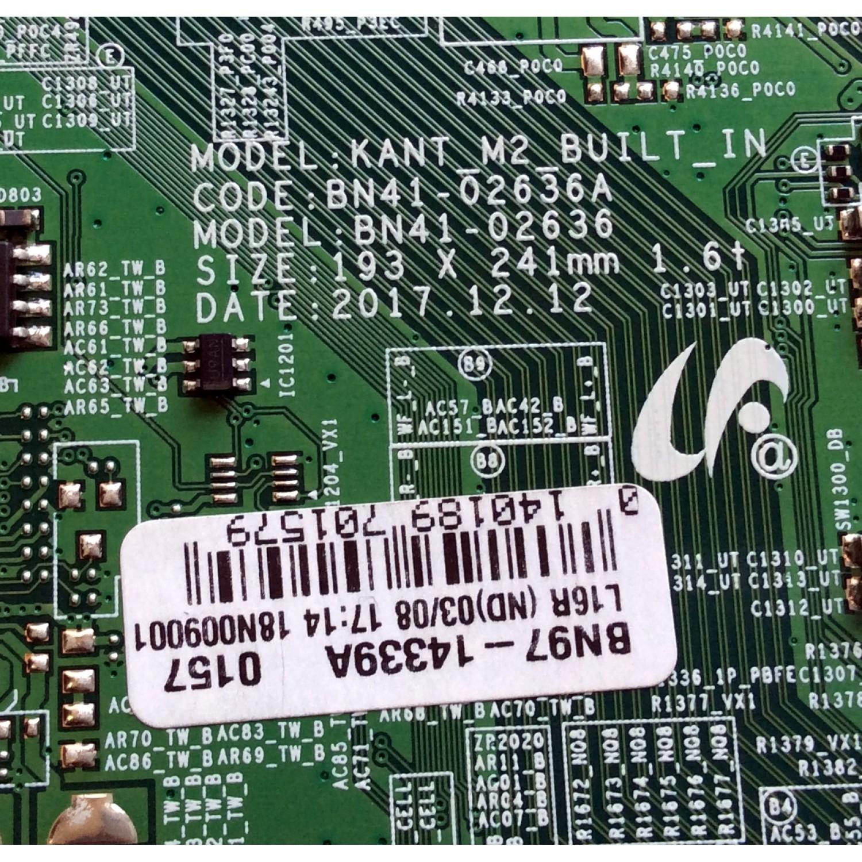 MAIN / SAMSUNG BN94-13029A / BN41-02636A / BN97-14339A / PANEL  CY-QN065FLLV5H / MODELO QN65Q6FNAFXZA FA01