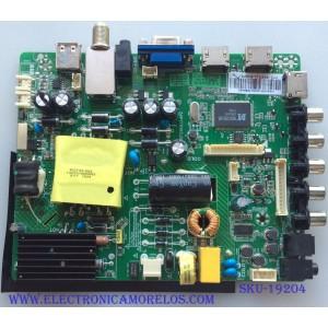 MAIN / FUENTE / (COMBO)  SY15238 / ST3393LU-AP2 / LSC400HN02 PANEL'S  T400-OCL-DLED  / LSC400HN02 / LSC400HM09 / ELEMENT MODELOS ELEFW408 F5G5M / ELEFW408