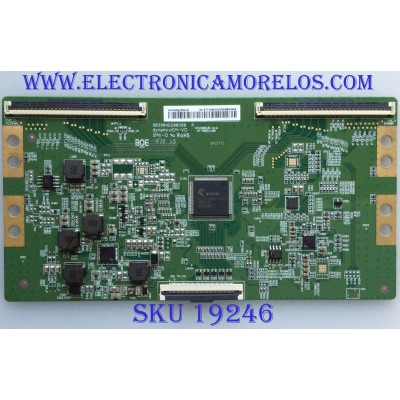 T-CON / HISENSE HV430QUBN1A / HV430QUB-N1A / 47-6021196 / B03904EE0028B / PANEL JHD425S1U71\S0\FM\ROH / MODELO 43RGE