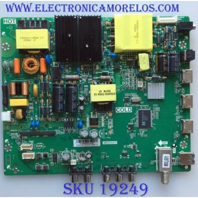 MAIN / FUENTE / (COMBO) / INSIGNIA / B15093209 / 3MS93AX13 / TP.MS3393.PC787 / E214887 / PANEL LVF.550CSDX EG V4 / MODELO NS-55D421NA16