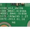 """MAIN / SAMSUNG / BN94-06323X / BN97-07019K / BN41-01958A / PANEL CY-HF500CSMV1H / PARTES SUSTITUTAS        BN94-06740E / MODELOS UN50F6300AF / UN50F6300AFXZA NH02 / UN50F5500AFXZA BH05 """