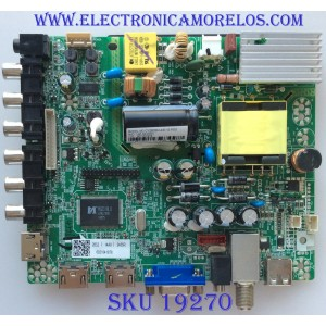 MAIN / FUENTE / (COMBO) / WESTINGHOUSE / 6021041878 / CV3393BH-A32-12-F002 / 44T094 / PANEL RUNTKC042ZZPN V1.0 / MODELO DWM32H1Y1