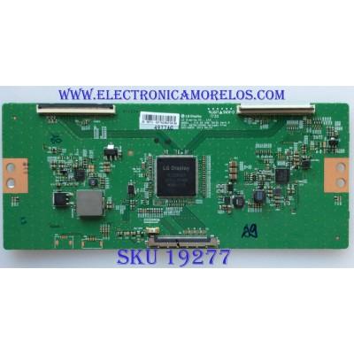 T-CON / VIZIO / 4977A / 6871L-4977AG / 6870C-0548A / PANEL TPT650UA -EQYSKM.G / MODELO E65-E1