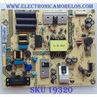 FUENTE DE PODER / SHARP /  HQ321XAF3 / (X)PLTVHQ321XAF3 / 715G9571-P01-000-003S / 4121089 / A1806254660 / MODELO LC-43LB601U