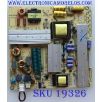FUENTE DE PODER / PIONEER / 510-130424015 / TV4205-ZC02-01 / M16-/G41025/02 / PANEL  V390HJ1-P02 / MODELO PLE-3903FHD