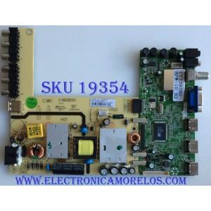 MAIN / FUENTE /(COMBO) SEIKI / 32H0178A / CVB28001 / CV3393BH-BPW-10 / 1.80.47.00003 / 32H0180 / PANEL  BLD275BA02 / MODELO SE28HY10