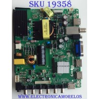 MAIN / FUENTE / (COMBO) UPSTAR / B14080089 / TP.MS3393.PB851 / D2040A / PANEL KM0395LDCH01G / MODELO P40EA8
