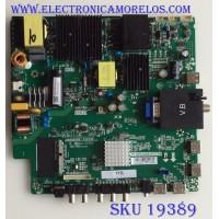MAIN /FUENTE /(COMBO) / SAMSUNG / H18113704 / TP.MS3458.PC758 / 102181100157 / PANEL LC546PU2L02 / MODELO HK55WLEDM