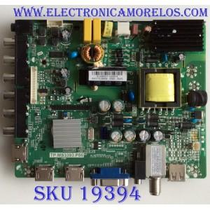 MAIN / FUENTE / (COMBO) / UPSTAR / B13060037 / TP.MS3393.P86 / IR1306002-03 / PANEL KM0315LDAH04 /  MODELO P32EWY