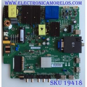 MAIN / FUENTE / (COMBO) / SCEPTRE / N18123945 / TP.MS3458.PC758 / 102181103843 / PANEL CC495PU1L01 / MODELO W50