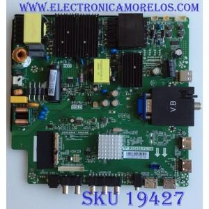 MAIN / FUENTE / (COMBO) / SCEPTRE / N19020668 / TP.MS3458.PC758 / N19020668-0A10989 / PANEL LC546PU2L02 / MODELO W55