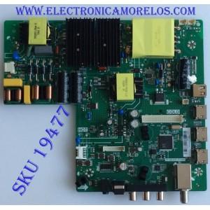 MAIN / FUENTE / (COMBO) / C18030418 / TP.MS3553.PC906 /  PANEL 536D5006AF11 / MODELO NS50D510NA19