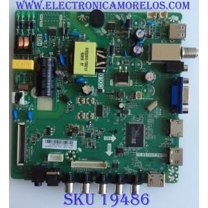 MAIN / FUENTE / (COMBO)  / ELEMENT / U15061983 TP.MS3393T.PB758 / PANEL HV320WHB-N06 / MODELO WD32HD1390