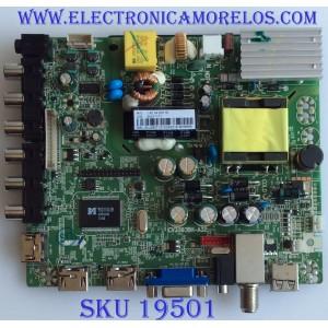 MAIN / FUENTE / (COMBO) / AURUS / 34011171 / CV3393BH-A32 / 3CJ2827 / 20131224 / PANEL 315A1B02/B0E / MODELO  DLED-3201XN