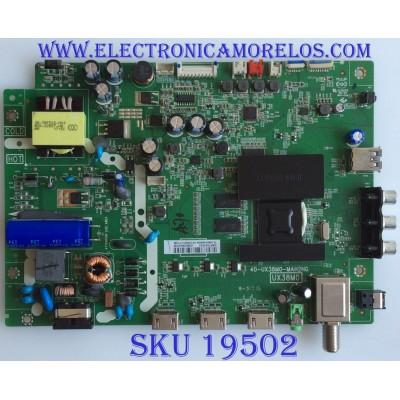 MAIN / FUENTE / (COMBO) / INSIGNIA / DAF7502053 / 40-UX38M0-MAH2HG / T8-UX38026-MA200AA / V8-UX38001-LF1V208 / PANEL LVW320CSDX E20 V1 /