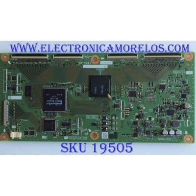 T-CON / SHARP / RUNTK4909TPYP / CPWBX4909TPYP / KF758 / 1X-P001892 U / PANEL  LK695D3GW20Z / MODELO LC-70LE735U