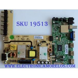 MAIN / FUENTE / (COMBO) SEIKI / 37H0734/CVB28001 / CV3393BH-BPW / BLS20130710Y-01-1863 / PANEL BLD260AA01 / MODELO  SE26HQ02