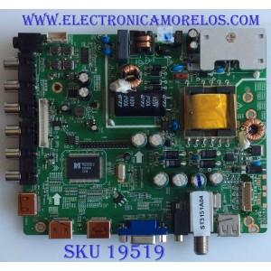 MAIN / FUENTE / (COMBO) / XBH-RE01-130812-JI01 / LDD.M3393.B / XBHLDD3393B1336 / PANEL TH320L323 / MODELO DLED-3209XN