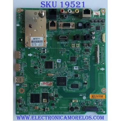 MAIN / LG / EBT62914402 / 62364608 / EAX65398003 / MODELO 42LY570H-UA