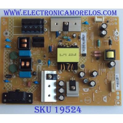 FUENTE DE PODER / PLTVFU301UXUC / TPV 715G7364-P01-003-002M / (X)PLTVFU301UXUC / MODELO NS-39DR510NA17