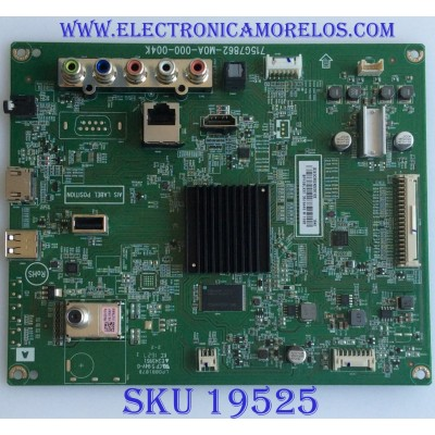 MAIN / XGCB02K0230 / 715G7862-M0A-000-004K / (X)XGCB02K023010X / PANEL TPT550J1 -DUYSHA.G REV:S1R /