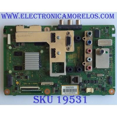 MAIN / PANASONIC / TXN/A11WGUS / TNPH1052AB / PANEL T390HVN02.3 / MODELO / TH-39LRU60