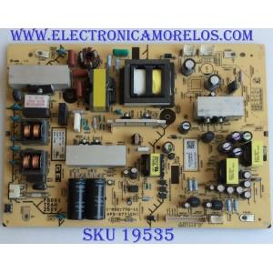 FUENTE DE PODER / SONY / 1-474-247-11 / APS-277(CH) 1-882-772-11 / PANEL T3154W07 / MODELO NSX-32GT1
