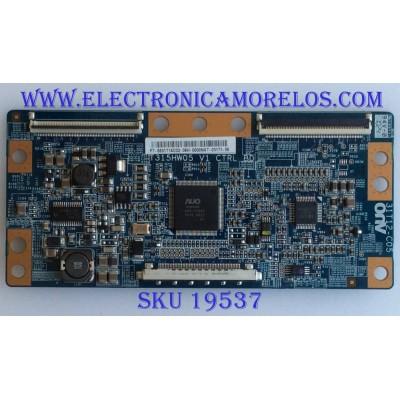 T-CON / 55.31T14.C02 / T315HW05 / 31T12-C02 / PANEL T3154W07 / MODELO NSX-32GT1