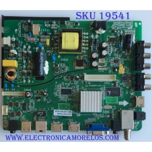 MAIN / FUENTE / (COMBO) SEIKI / 110105001438 / ST6308RTU-AP1 / SY14412-6 / PANEL LSC320PUWTH / MODELO SE32HY19T