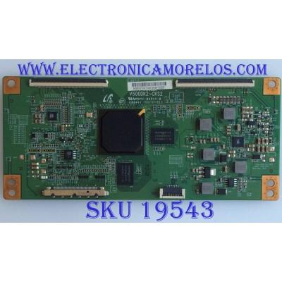 T-CON / PROSCAN / V500DK2-CKS2 40 INCH / V500DK2-CKS2 / MODELOS  PLDED4030A-C-RK A1410 / BDM4065UC