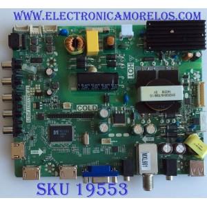 MAIN / FUENTE / (COMBO) / B14010338 / TP.MS3393T.PB79 / 3MS3393X-2 / PANEL LVF390AUDXE2V1 / MODELO DP39D14