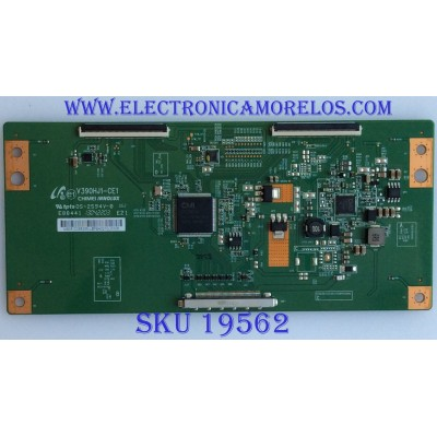 T-CON / LG / M35-D085355 / V390HJ1-CE1 / PANEL HC390DUN-VCFP1-21XX / MODELO 39LN5300