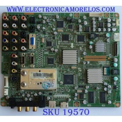MAIN / SAMSUNG / BN94-01433B / BN97-01740B / BN41-00904A / PANEL LTA400HA04 / MODELO LNT4081FX/XAA SN01