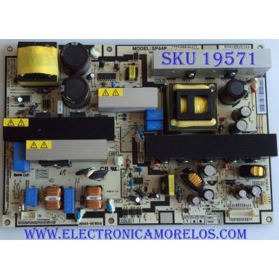 FUENTE DE PODER / SAMSUNG / BN44-00185A / SP44P / MODELOS LNT4681FX/XAA / LNT4081FX/XAA