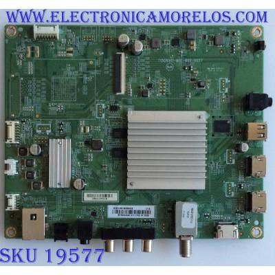 MAIN / INSIGNIA / XHCB01K009 / T15G8501-M0E-B00-005T / (X)XHCB01K009040X / PANEL TPT500U1 -QVN03.U REV:S5B0A / MODELO NS-50DR620NA18