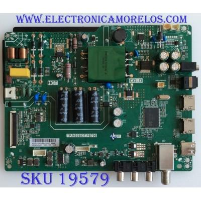 MAIN / FUENTE / (COMBO) / H18010083 / TP.MS3553T.PB796 / 320021043002005 / PANEL BOEI320WX1-01 / MODELO NS-32D220NA18