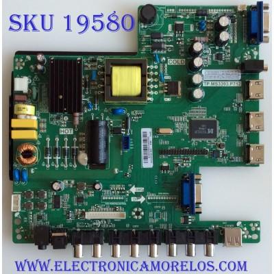 MAIN / FUENTE / (COMBO) / SCEPTRE / B16032902 / TP.MS3393.P712 / CN32HB820 / PANEL HV320FHB-N00 / MODELO X32 VER:BMNV93CB