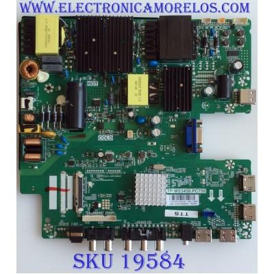 MAIN / FUENTE / (COMBO) / SCEPTRE / C18043055 / TP.MS3458.PC758 / U550CV-UMR / PANEL HV550QUB_H11 / MODELO W55