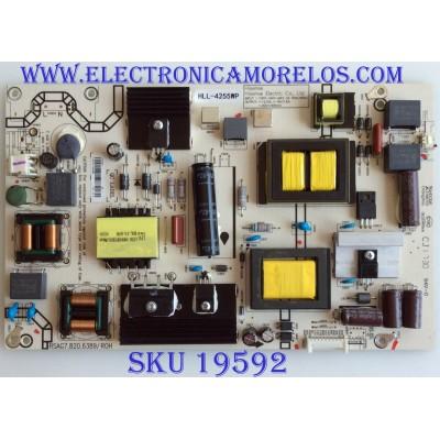 FUENTE DE PODER / INSIGNIA / 217623 / RSAG7.820.6389/ROH / 937317 / PANEL JHD490N2F81-BKQL\BBY\S5\FM\ROH / MODELO NS-49D420NA18