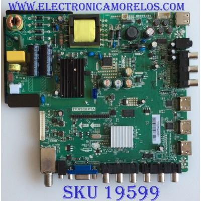 MAIN / FUENTE / (COMBO) / SCEPTRE / A13103440 / TP.RSC8.P7A / T201307060 / CN32HB612 / PANEL T320HVN01.2 / MODELO X32