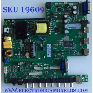 MAIN / FUENTE / (COMBO) / SCEPTRE / B16032906 / TP.MS3393.P712 / T201603071A / PANEL HV320FHB-N00 / MODELO E32 BMBV93CB