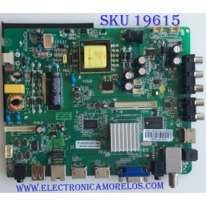 MAIN / FUENTE / (COMBO) / SEIKI / SY15087 / ST6308RTU-AP1 / V400HJ6-PE1 / 110105001437 / MODELO SE40FYT 40C0M