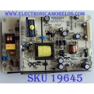 FUENTE DE PODER / SEIKI / AY085D-4HF02 / 890-PAO-3206 / AY1437A083054 / MODELO SE32HY19T