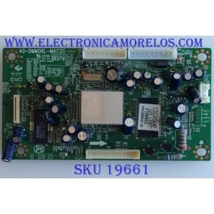 TARJETA PC / RCA / 40-DMM06L-MAC2G / XK-WX080225A / DMM06L4 / PANEL  LTA400WT-L17 / MODELOS L40HD33DYX12 / L40HD33DYX15