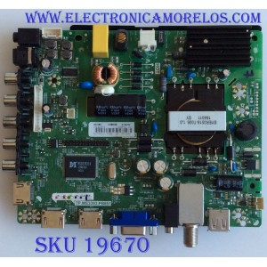 MAIN / FUENTE / (COMBO) /  204879D / TP.MS3393.PB851 / 190877 / LHD32C50VS / PANEL JHD315DH-E81\S12\FM\ROH / MODELO 32H3B2