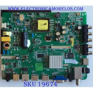 MAIN / FUENTE / (COMBO) / 110105001721 / ST6308RTU-AP1 / ST3151A04-9 / PANEL MD3232YTBH / MODELO WD32FB2530